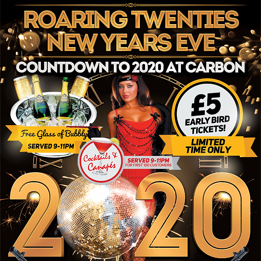 New Years Eve at Carbon