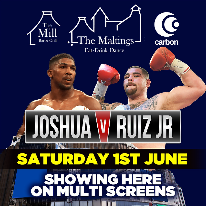 LIVE Boxing: Joshua vs Ruiz Jr