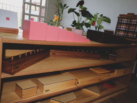 Pilar Montessori – Ambiente Preparado