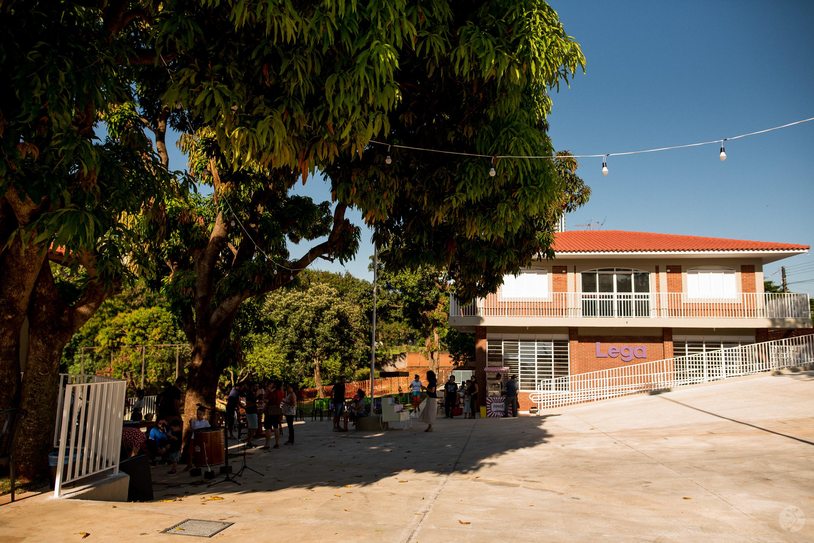 Nossa Escola - visão do pátio
