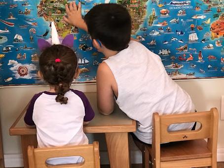 O dia a dia em uma escola Montessori com turmas agrupadas