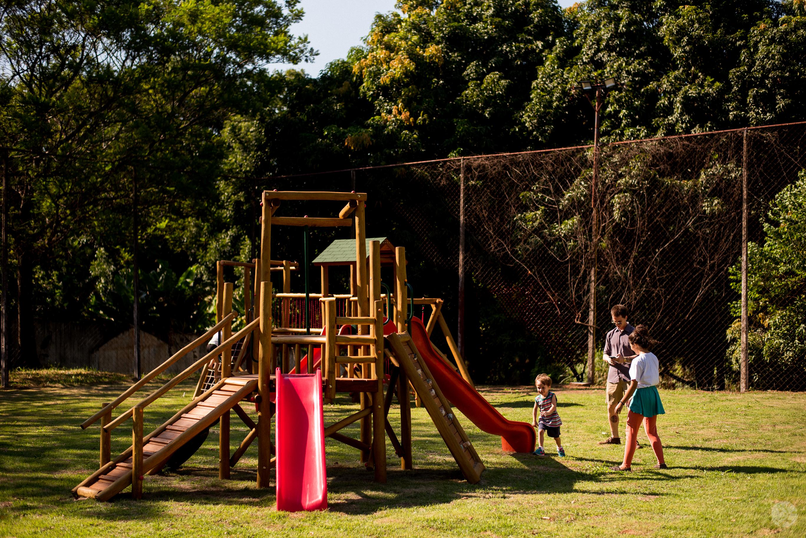 Playground de eucalipto