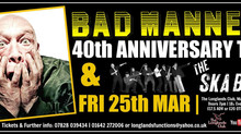 THE SKA BEATS SUPPORT BAD MANNERS 25th March 2016