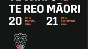 Nau mai ki Te Wiki o te reo Māori - Welcome to Māori Language Week (13 -19 Sep 2021)