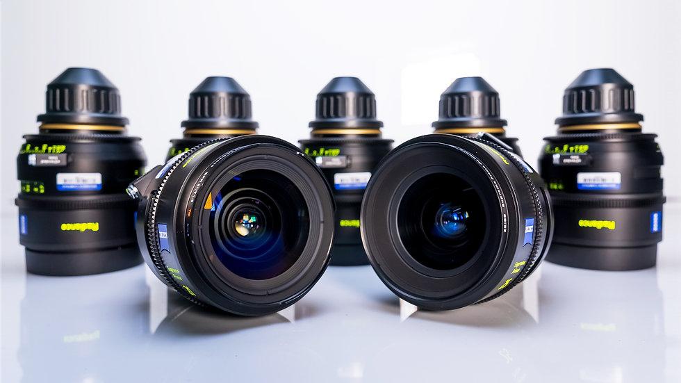 Zeiss Supreme Primes Radiance - 7 Lens Set