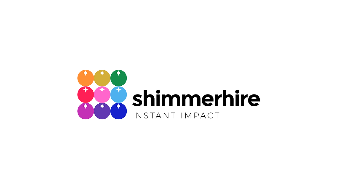 Shimmerhire Final Logotype