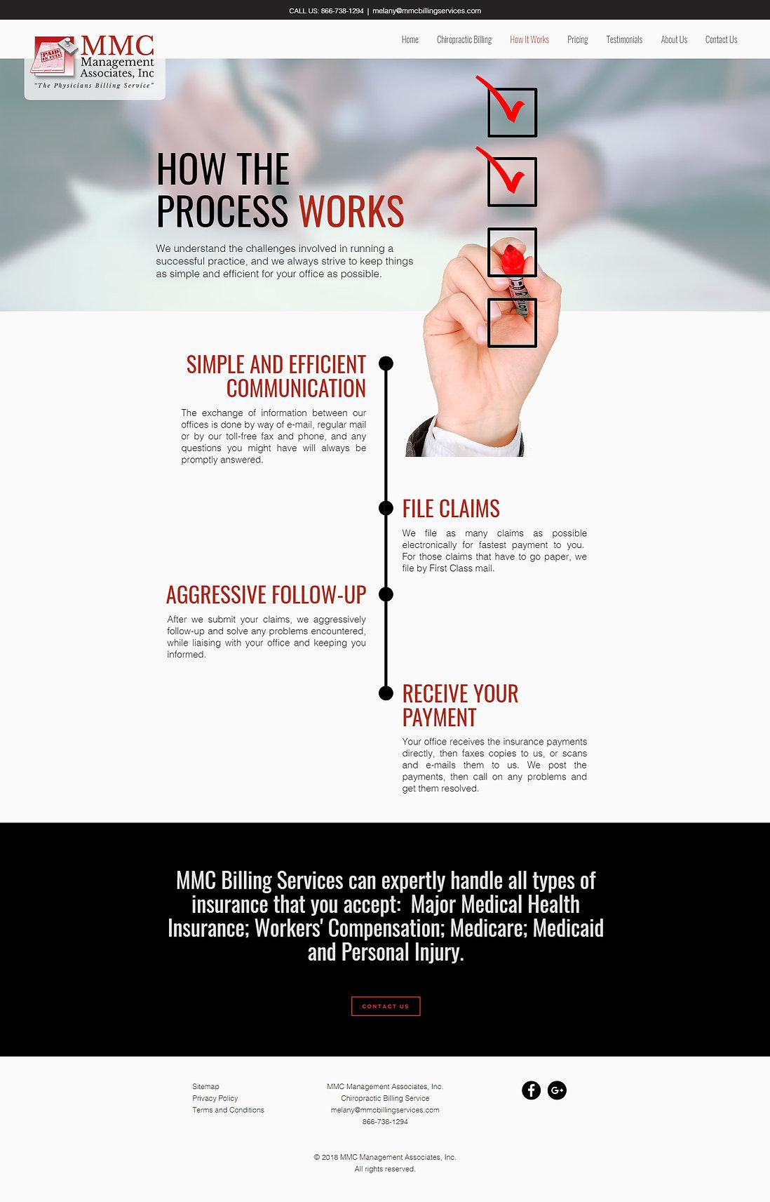 MMC Management Associates, Inc Website Design