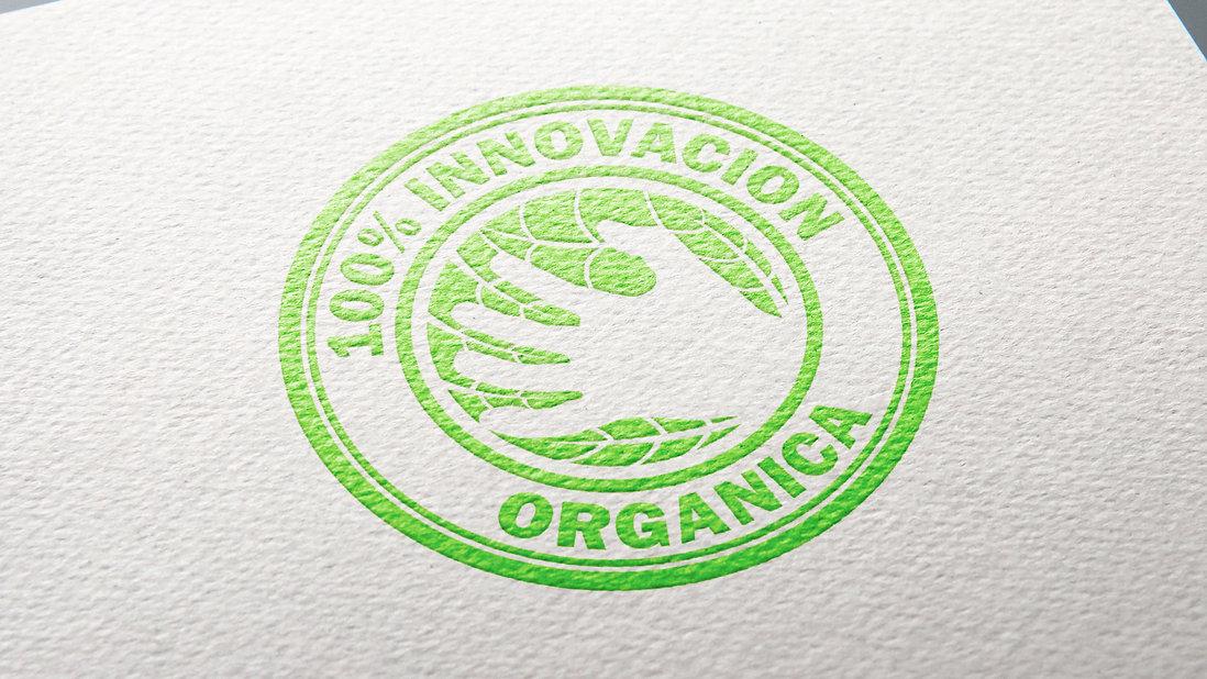 Foligrin S.A. Organic Innovation Seal Design