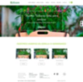 Coltivare Website Design Home Page
