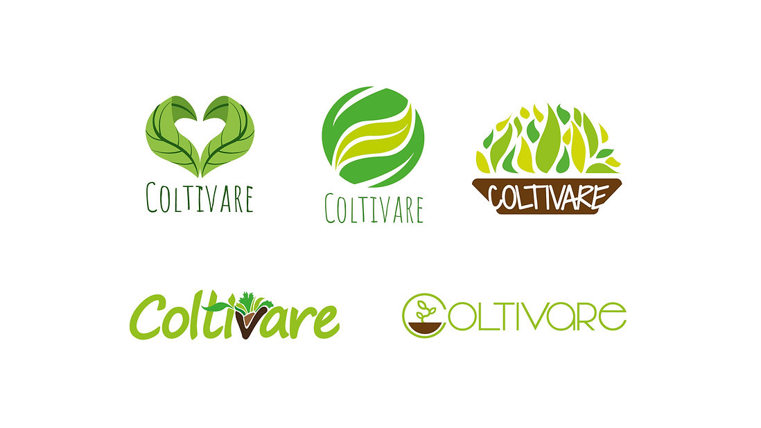 Coltivare Logotype Design Ideas, choosing the best logo