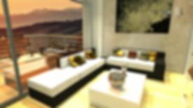 Eddy Rivera Virtual Tour Render Still with sunset
