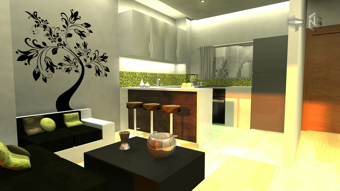 Eddy Rivera Virtual Tour Still Green Kitchen