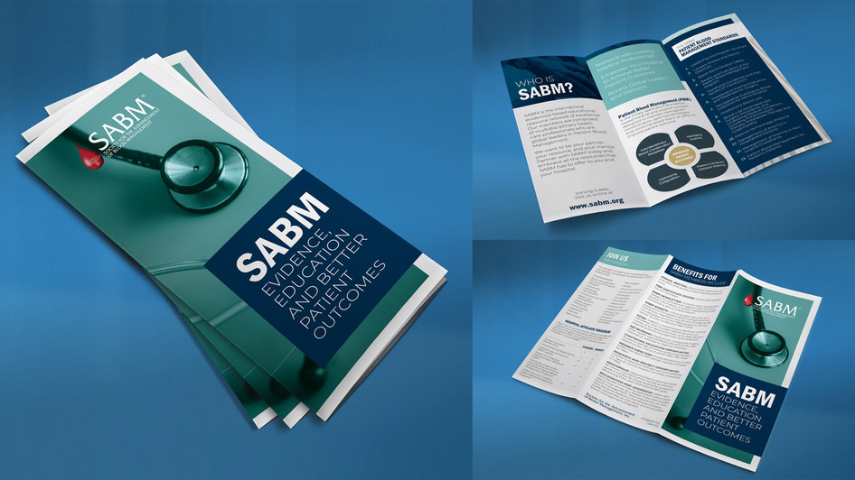 SABM Trifold Brochure Design
