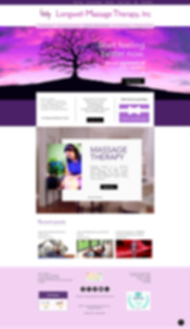 LMT Website Design Home Page