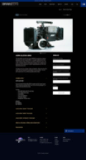 BrainBox Cameras Online Rental Store Product Page