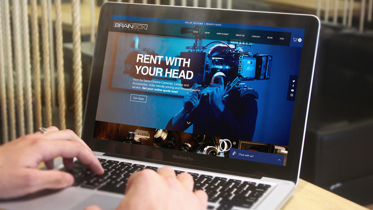 Brainbox Web and E-commerce Store