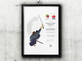 Poster para Evento de Iaido