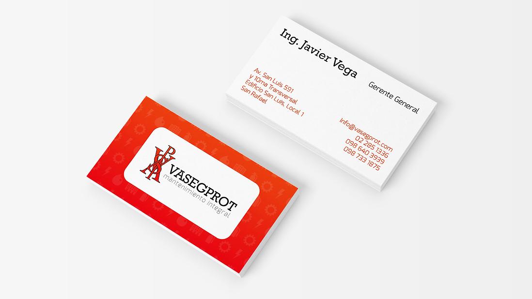 Vasegprot Business Cards Design