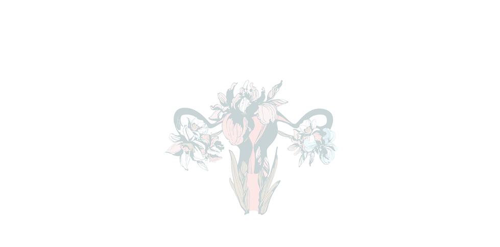 Uterus Zeichnung Blume