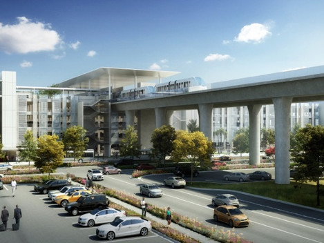 LAX Consolidated Rental Car Center (ConRAC) Project