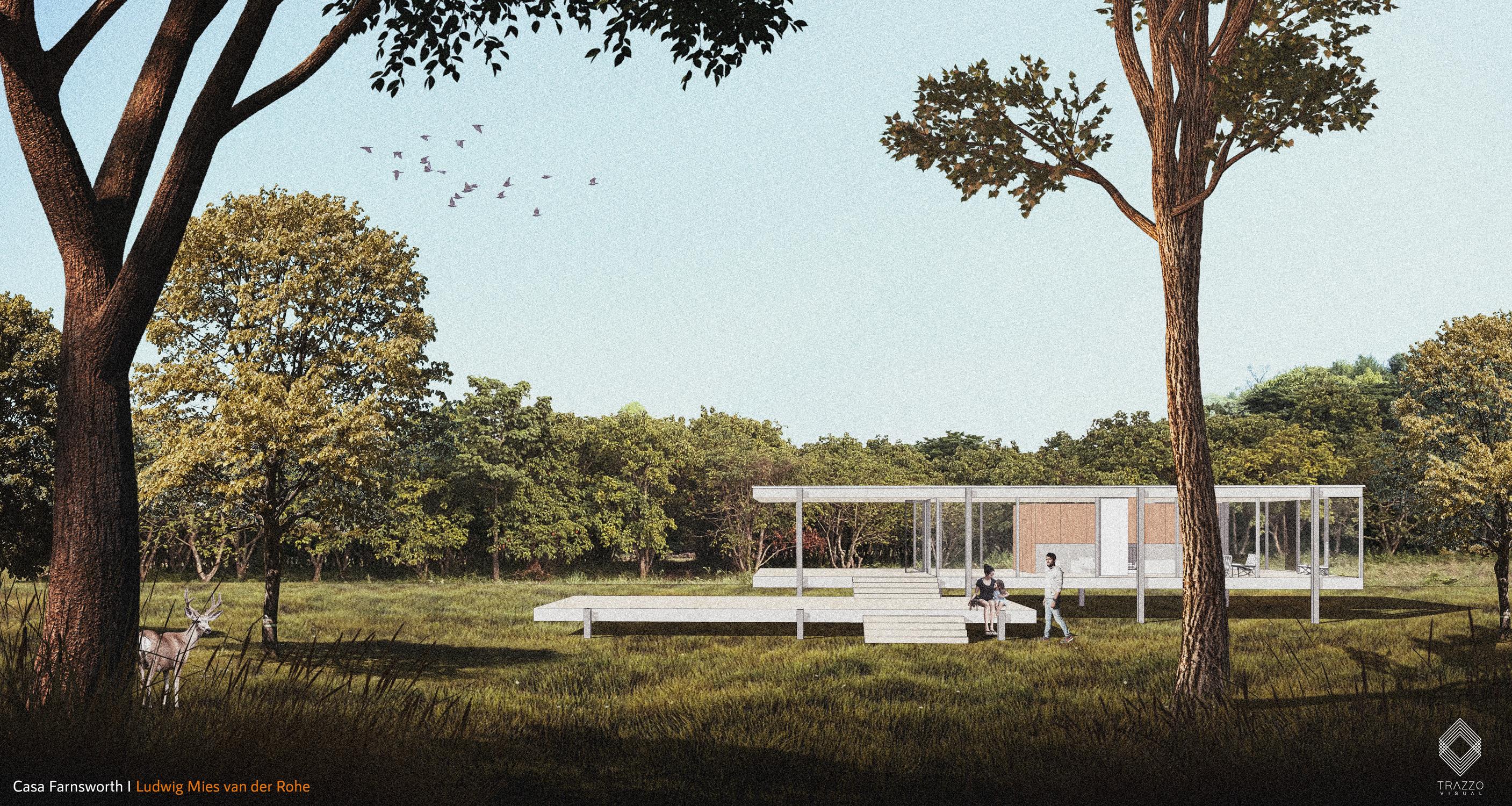 Casa Farnsworth : Skp + Ps