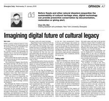 Imagining Digital Future of Cultural Legacy