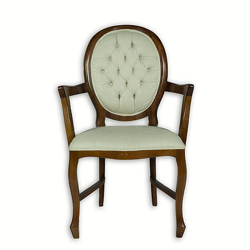 Cadeira medalhão Captone com braço