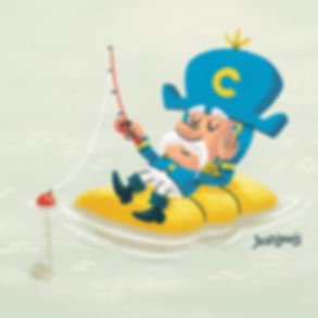 Good ol' Cap'n Crunch doing some lazy fi