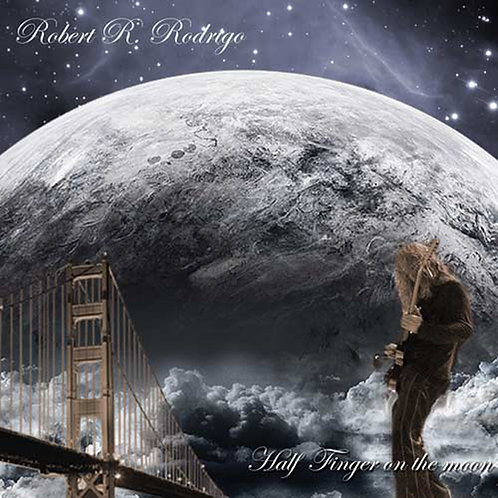 Robert Rodrigo Half Finger On The Moon