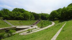 長池公園姿池 里山の緑