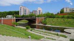 長池公園姿池 見附橋