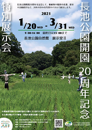 20210120-20210331長池公園開園20周年展示会_講演会なし_WEB