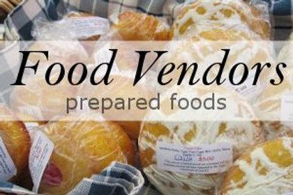 Food Vendor Registration