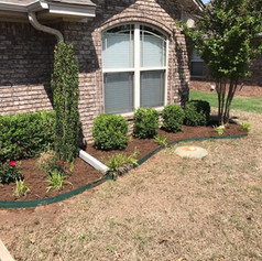 Landscaping Project Complete