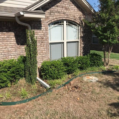 Landscaping Project Before