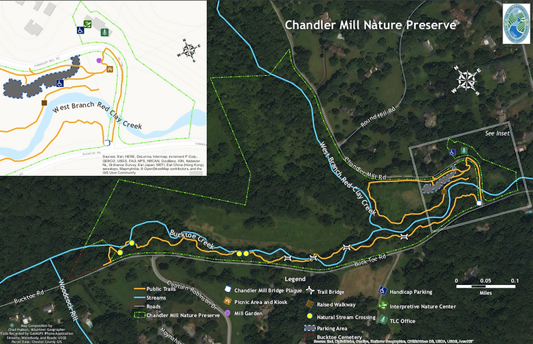 Chandler Mill Map