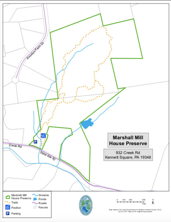 Marshall Mill House Map