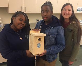 Youth Environmtl Corps Bird Box buidling