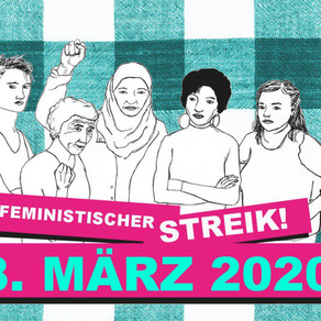 RADIA wird auf der Strasse am Feministischen Streik!!