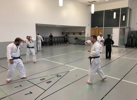 covid-safe Karate