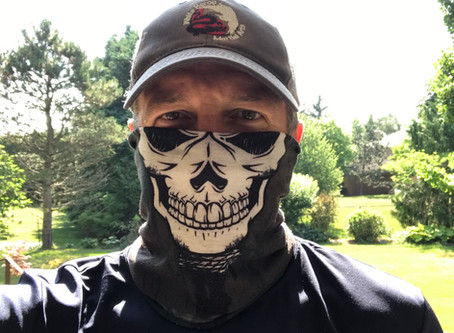 Training with a mask
