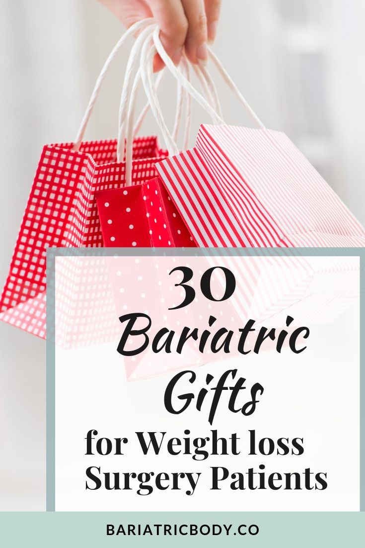 Are you looking for the perfect Christmas Gift and Present for someone who had Bariatric Weight loss Surgery? Trying to find gifts that will be useful as a care package or gift baskets? These 30 gifts will have her knowing you really care and put so much thought in your giving! These are my top 30 Christmas gifts for her that are all under $50. #bariatricgift #weightlosssurgerygift #bariatricgiftideas #giftbasket #Christmas #Holidays