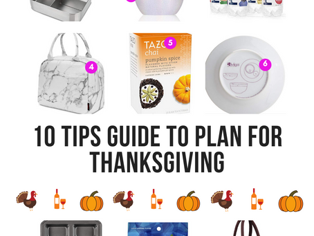 10 Tips 'How To Conquer, Survive and Plan' Thanksgiving after Bariatric Surgery {Guide}