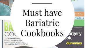 10 Must Have Bariatric Cookbooks