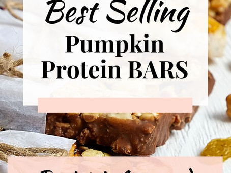 Approved Pumpkin Protein Bars for Bariatrics