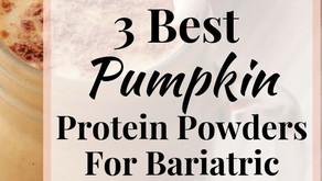 Pumpkin Protein Powder for the Thanksgiving Holiday Season!