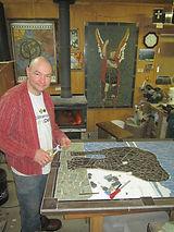 Christian Parenteau artisan mosaïste