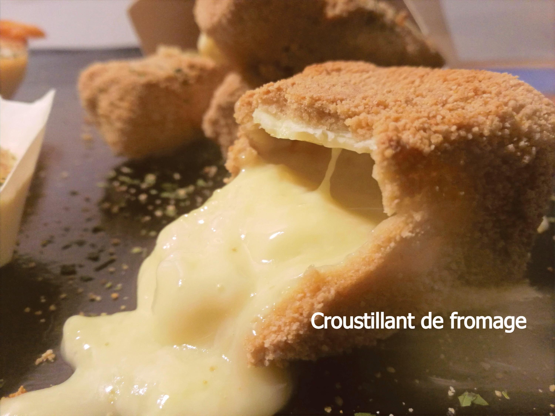 Croustillant de fromage