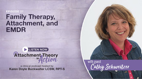 Cathy Schweitzer: Family Therapy, Attachment, and EMDR