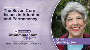 Sharon Roszia: The Seven Core Issues in Adoption and Permanency